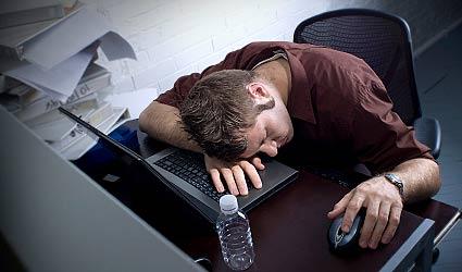 Dormindo com computador ligado
