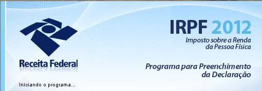 receita fazenda download irpf 2012