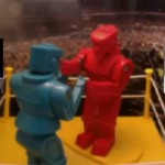 Obama e Romney em boxe virtual ao vivo